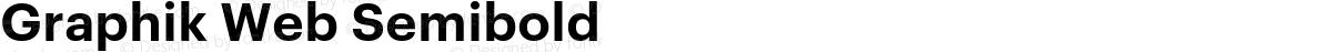Graphik Web Semibold