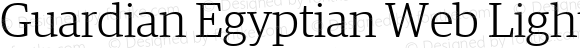 Guardian Egyptian Web Light