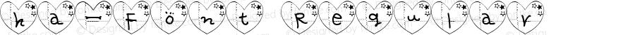 ha-Font Regular 1.0