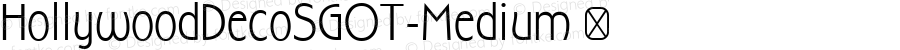 HollywoodDecoSGOT-Medium ☞ 2.620;com.myfonts.easy.spiecegraphics.hollywood-deco-sg.medium.wfkit2.version.2HAc