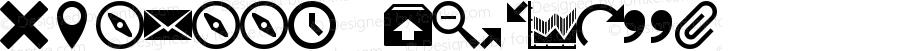 IcoMoon Regular Version 1.0