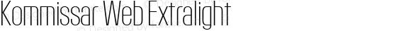 Kommissar Web Extralight