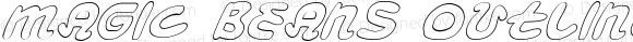 Magic Beans Outline Italic Outline Italic