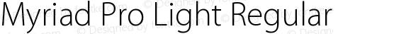 Myriad Pro Light Regular Version 2.037;PS 2.000;hotconv 1.0.51;makeotf.lib2.0.18671