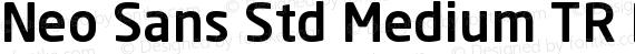 Neo Sans Std Medium TR Regular preview image