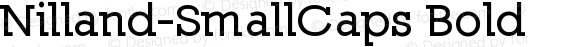 Nilland-SmallCaps-Bold