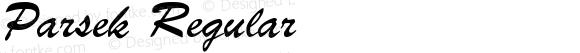 Parsek Regular