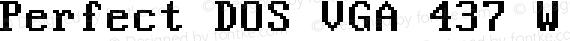 Perfect DOS VGA 437 Win Regular preview image