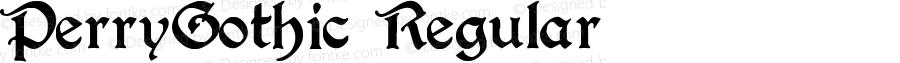 PerryGothic Regular
