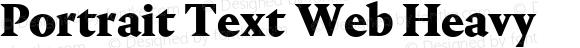 Portrait Text Web Heavy
