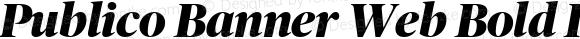 Publico Banner Web Bold Italic