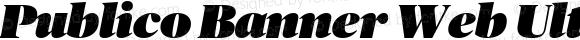 Publico Banner Web Ultra Italic