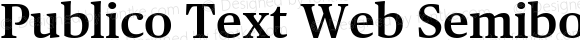 Publico Text Web Semibold