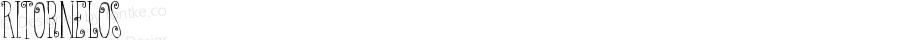 Ritornelos ☞ Version 002.000 ;com.myfonts.easy.pintassilgo.ritornelos.regular.wfkit2.version.3rZG