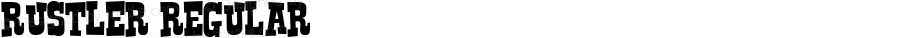 Rustler Regular Macromedia Fontographer 4.1.3 9/15/01