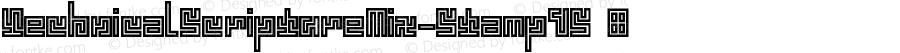 TechnicalScriptureMix-StampVS ☞ Version 1.000;com.myfonts.easy.mmc-typodrome.technical-scripture.mix-stamp-vs.wfkit2.version.4mqe
