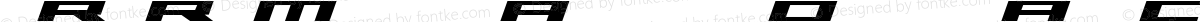 Trireme Expanded Bold Italic ExpandedBoldItalic