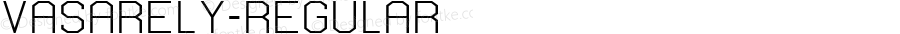 Vasarely-Regular ☞ Version 1000;com.myfonts.easy.b2302.vasarely.regular.wfkit2.version.3ZAH