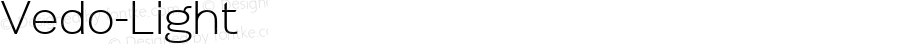 Vedo-Light ☞ Version 1.000;com.myfonts.easy.wiescherdesign.vedo.light.wfkit2.version.3CZx