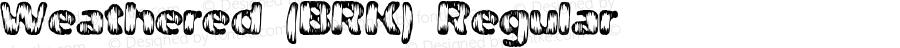 Weathered (BRK) Regular Version 2.22