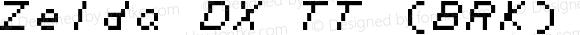 Zelda DX TT (BRK) Regular Version 3.31