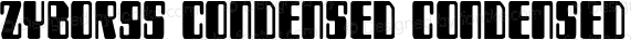 Zyborgs Condensed Condensed 2
