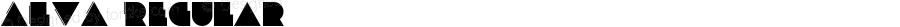 ALVA Regular Version 1.000;PS 001.000;hotconv 1.0.70;makeotf.lib2.5.58329 DEVELOPMENT