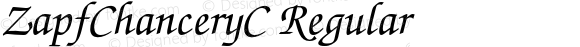 ZapfChanceryC Regular OTF 1.0;PS 001.000;Core 116;AOCW 1.0 161