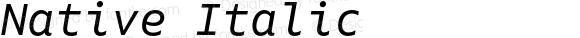 Native Italic