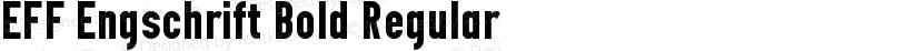 EFF Engschrift Bold Regular Preview Image