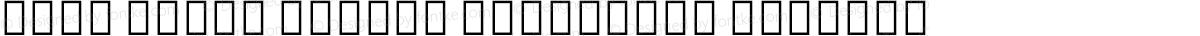 Noto Serif Hebrew Condensed Regular