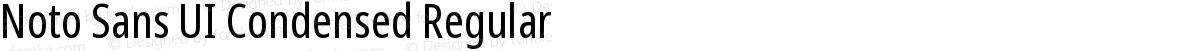Noto Sans UI Condensed Regular