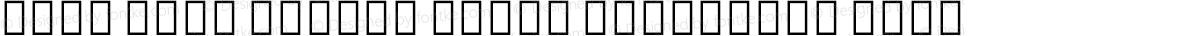 Noto Sans Hebrew Extra Condensed Bold