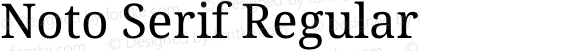 Noto Serif Regular