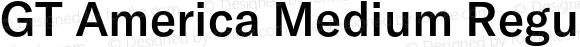 GT America Medium Regular Version 5.001;PS 005.001;hotconv 1.0.88;makeotf.lib2.5.64775