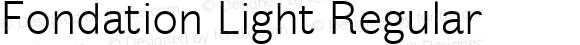 Fondation Light Regular