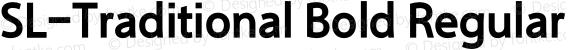 SL-Traditional Bold Regular