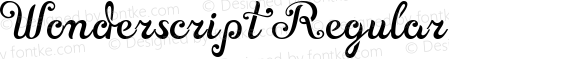 Wonderscript Regular