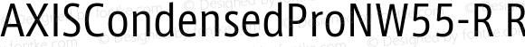 AXISCondensedProNW55-R Regular