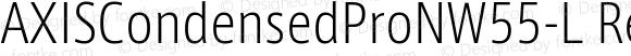 AXISCondensedProNW55-L Regular
