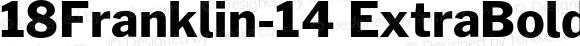 18Franklin-14 ExtraBold Regular