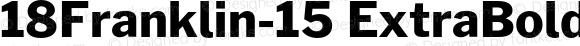 18Franklin-15 ExtraBold Regular