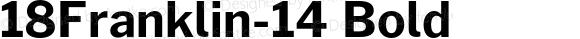 18Franklin-14 Bold