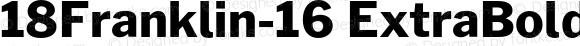 18Franklin-16 ExtraBold Regular
