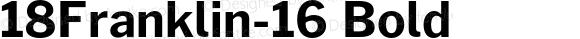 18Franklin-16 Bold