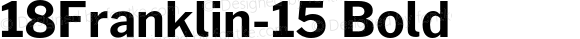 18Franklin-15 Bold