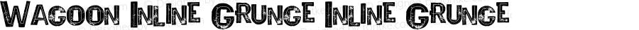 Wagoon Inline Grunge Inline Grunge Version 1.000