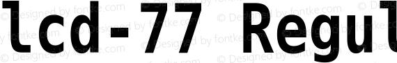 lcd-77 Regular preview image