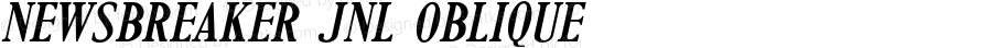 Newsbreaker JNL Oblique Version 1.000 - 2016 initial release