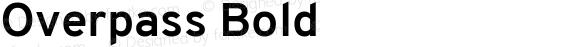 Overpass Bold